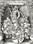Albrecht Durer - Coat Of Arms Of Johann Tscherte