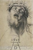 Albrecht Durer - Head Of The Dead Christ