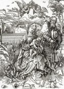 Albrecht Durer - Holy Family With Three Hares