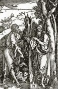 Albrecht Durer - Sts John The Baptist And Onuphrius