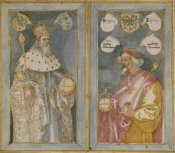 Albrecht Durer - The Emperors Charlemagne And Sigismund