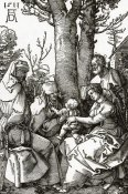 Albrecht Durer - The Holy Family With Joachim And Anna