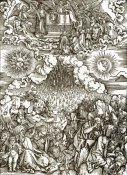 Albrecht Durer - The Revelation Of St John 5