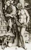 Albrecht Durer - The Temptation Of The Idler