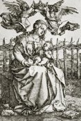 Albrecht Durer - The Virgin Mary Crowned By Two Angels