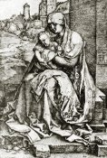 Albrecht Durer - The Virgin Mary With The Infant At The City Wall