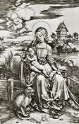 Albrecht Durer - The Virgin Mary With The Monkey