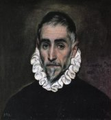 El Greco - An Elderly Gentleman