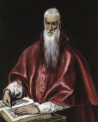 El Greco - Saint Jerome As A Scholar