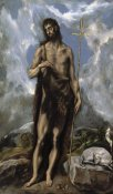El Greco - Saint John The Baptist