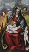 El Greco - The Holy Family With Saint Anne