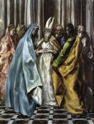 El Greco - The Marriage Of The Virgin