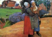 Paul Gauguin - Breton Peasant Woman