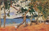 Paul Gauguin - By The Seashore