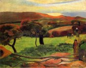 Paul Gauguin - Fields By The Sea