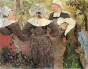 Paul Gauguin - Four Breton Women