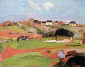 Paul Gauguin - Landscape At Le Poulda