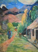 Paul Gauguin - Mountain Road