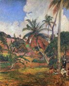 Paul Gauguin - Palm Trees In Martinique