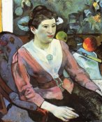 Paul Gauguin - Portrait Of A Seated Woman