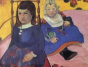 Paul Gauguin - Portrait Of Two Children