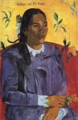 Paul Gauguin - Woman With A Flower