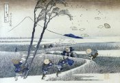 Hokusai - A Sudden Gust Of Wind At Ejiri
