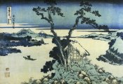 Hokusai - A View Of Mount Fuji Across Lake Suwa In Shinano Province 1831