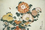 Hokusai - Chrysanthemum And Bee