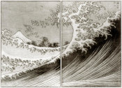 Hokusai - Mount Fuji Seen Above The Waves