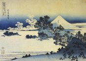 Hokusai - Mount Fuji Seen From Shichirigahama Beach 1831