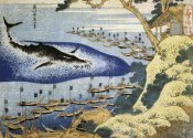 Hokusai - Whaling Off The Goto Islands