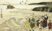 Hokusai - Women On The Beach At Enoshima