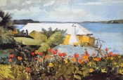 Winslow Homer - Flower Garden And Bungalow Bermuda