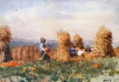 Winslow Homer - Pumpkin Patch