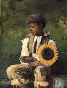 Winslow Homer - Taking Sunflower To Teacher