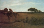 Winslow Homer - The Brush Harrow
