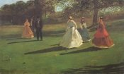 Winslow Homer - The Croquet Players