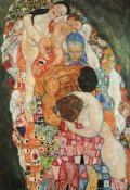 Gustav Klimt - Death And Life 2