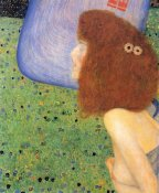 Gustav Klimt - Girl With Blue Veil 1903