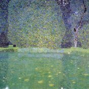 Gustav Klimt - Pond At Schloss Kammer On The Attersee 1910