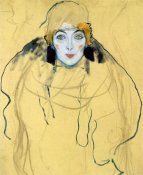 Gustav Klimt - Portrait Of A Woman 1918