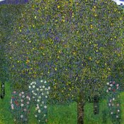 Gustav Klimt - Roses Under Trees 1904