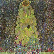 Gustav Klimt - Sunflower