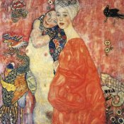 Gustav Klimt - The Girlfriends 1917