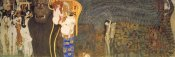 Gustav Klimt - The Hostile Powers (From The Beethoven Frieze) 1902