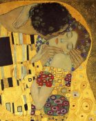 Gustav Klimt - The Kiss (detail 2)