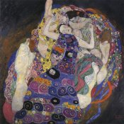 Gustav Klimt - The Virgins