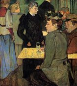 Henri Toulouse-Lautrec - A Corner In A Dance Hall