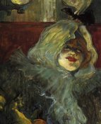Henri Toulouse-Lautrec - At The Rat Mort Detail